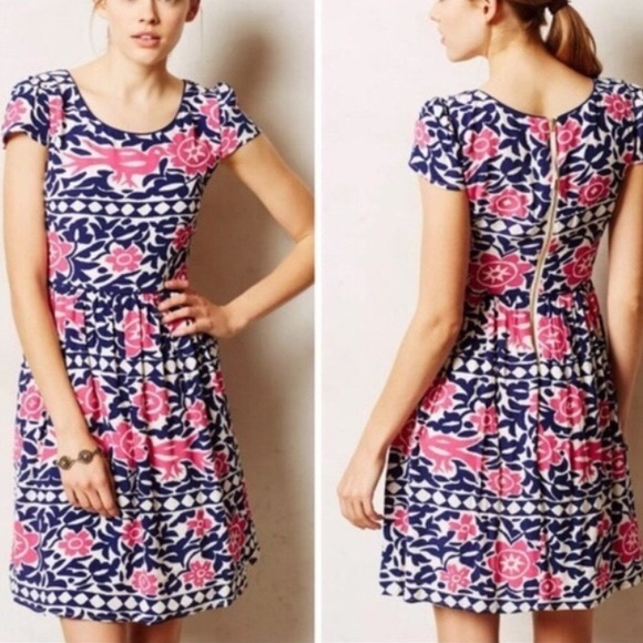 Anthropologie Dresses & Skirts - NWT Anthropologie Maeve Bird Dress Size 12